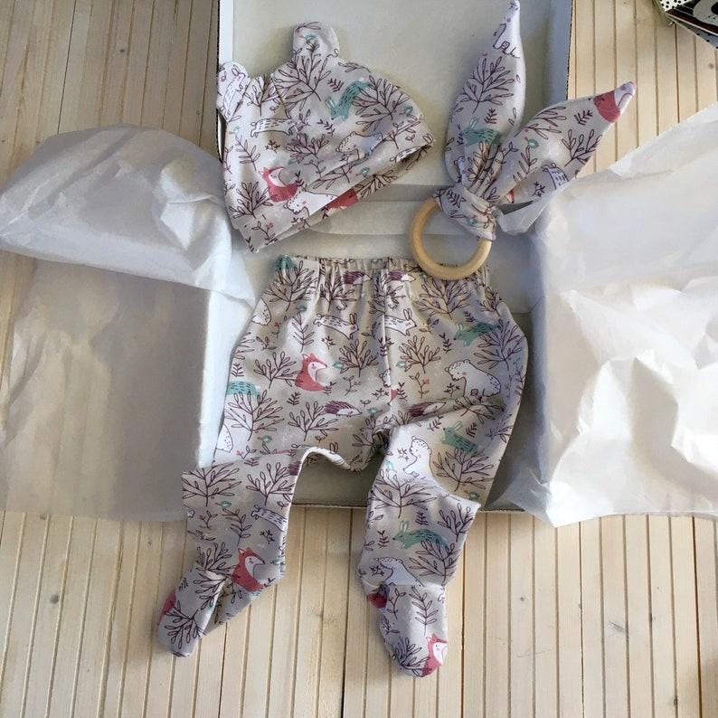 Forest Animals Baby Gift Set