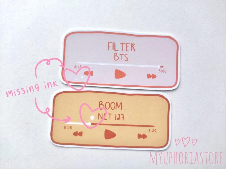 OOPSIE BAGS 10 random stickers  bts bt21 nct 127 dream wayv ateez  cute kpop stickers