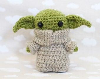Baby Alien/The Child - Amigurumi Crochet Pattern