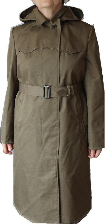 Soviet Female Officer Raincoat - Macintosh with Ho