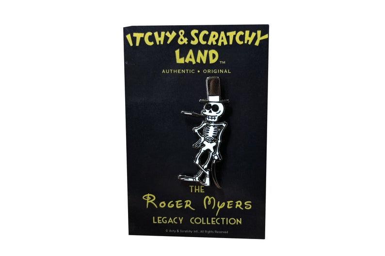 Itchy and Scratchy Land Pin(Rich Uncle Skeleton)