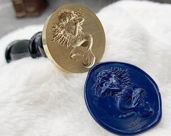 Seal Stamp Vintage 3D Seal Wax Stamp for DIY Scrapbooking Envelope Decor Cat Paw