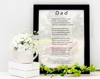 Car Poem, Dad Birthday Gift, Wall Art, Daddy Gift, Gift from Son, Gift from Daughter, Life, Birthday Dad Gifts, Dad Gifts, Birthday Gift Dad