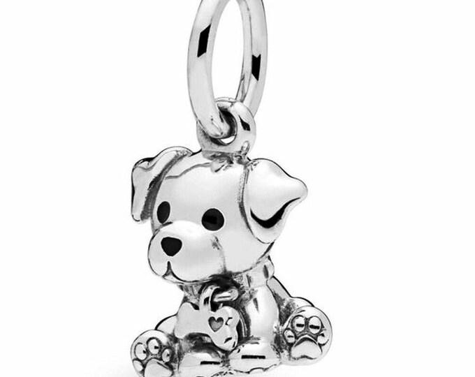 PANDORA Labrador Puppy Pendant Charm 798009EN16