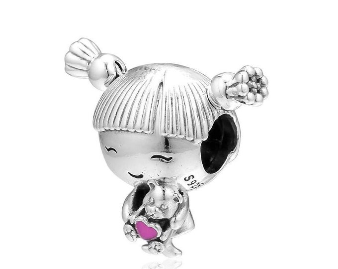 PANDORA Little Girl Charm 798016EN160