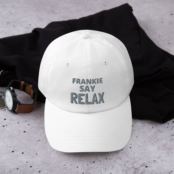 FRANKIE Goes Hollywood SAY RELAX 1980s Retro Trucker Cap vintage FREE SHIP New