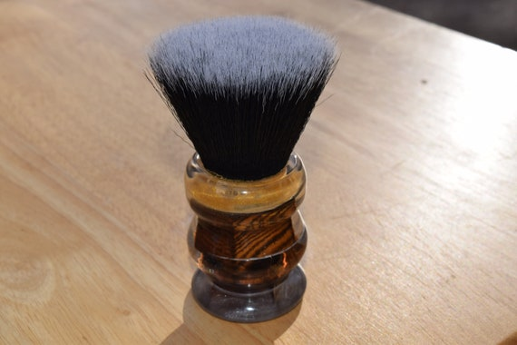 Smokey Bottom Two-Squared Cousin Whet Shaving Brush