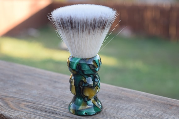 Green With Envy Whet Shaving Brush