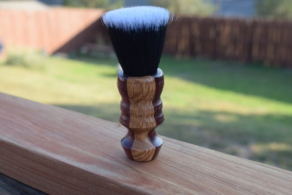 Upside Down Whet Shaving Brush