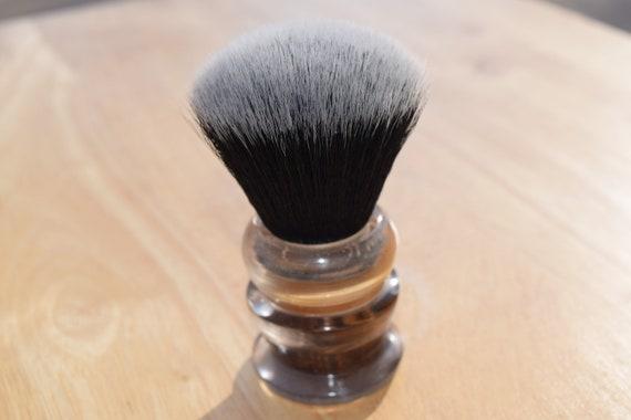 Smokey Bottom Ball/Square Whet Shaving Brush
