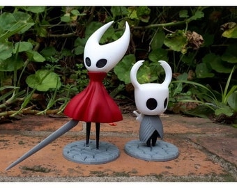 Hollow Knight and Hornet 3d figures,shadelord,hollow knight game,knight sculpture,decor,gift,