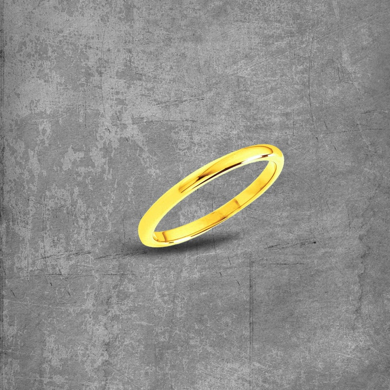 Dainty Wedding Ring Thin Wedding Ring Minimalist Wedding Band Matching Rings For Couples Gold Rings For Women Gold Wedding Band Simple