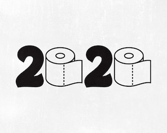 Toilet paper svg | Etsy