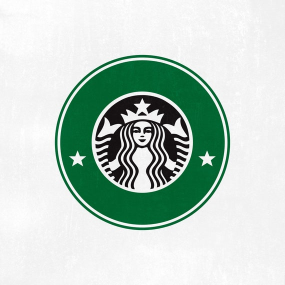 Starbucks Ring Svg Starbucks Custom Logo Template Svg Coffee Etsy