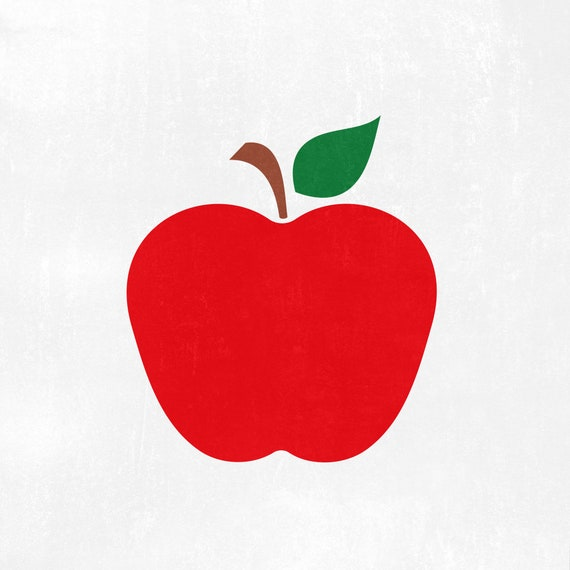 Apple Svg Apple Back To School Svg Eacher Svg Teacher Etsy
