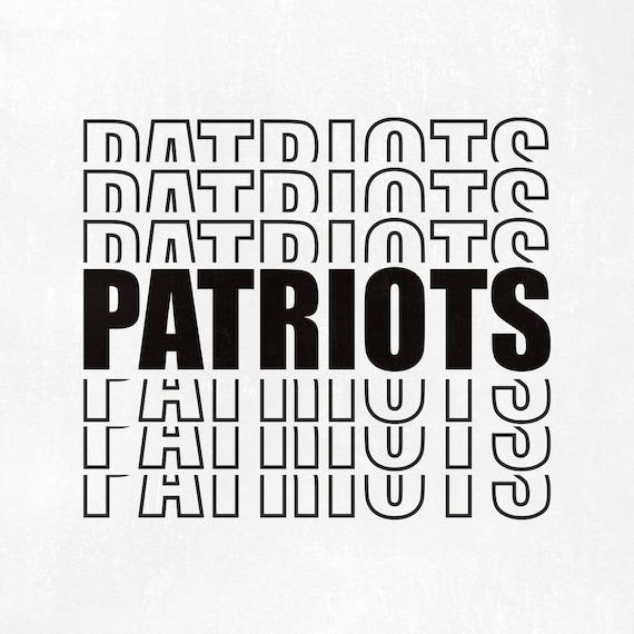 Patriots Svg Patriots Team Svg Patriots Fan Svg Patriots Etsy