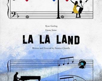 La La Land Movie Poster Etsy