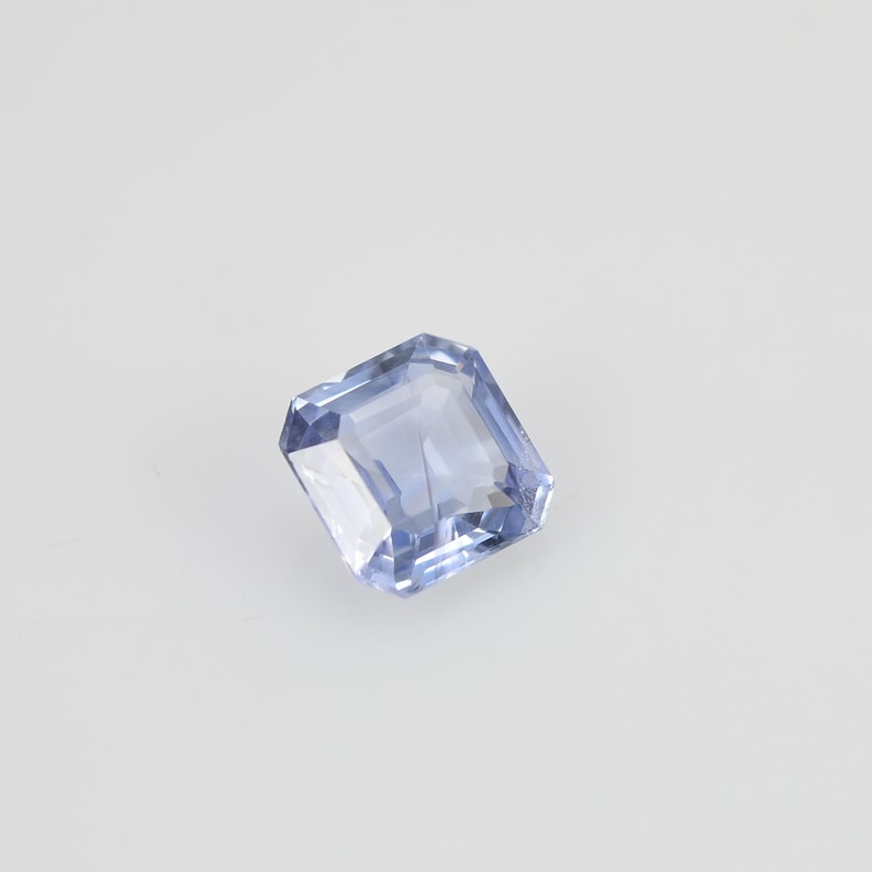 1.39 Cts  Natural Blue Sapphire Loose Pair Gemstone Octagon Cut