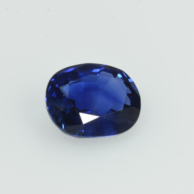 0.89 cts Natural Blue Sapphire Loose Gemstone Oval Cut