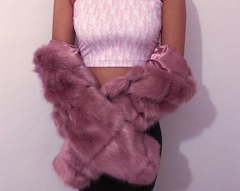 6f8d57999 Y2K Pink Dior Monogram Boob Tube Tube Top Bandeau Top