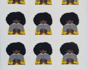 JW Gifts, Pioneer Gifts, Computer Stickers, Cool Stickers, Kiss Cut Stickers,Black Women Are Dope, Black Girl Stickers, Aesthetic Stickers