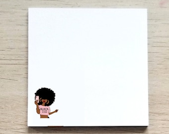 Sticky Notes, Note Pads, Post It Notes, Planner Sticky Notes, Office Decor, JW Pioneer Gifts, Unique Gifts For Sisters, Black Owned Shop
