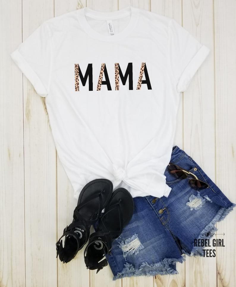 Mothers Day Funny Retro Mom Shirts Tired mom Cool Moms Mommy Shirt Boho Mama Cool Mom Trendy Mom Shirts