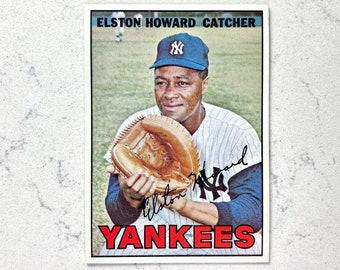1955 Elston Howard Rookie Baseball Bazooka #68 #E71OO