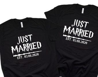 Harry Potter Inspired Shirts Bride Groom Shirt Universal   Etsy
