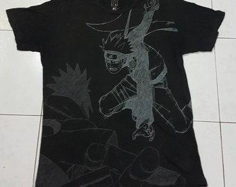 81950631f8 Naruto shirt   Etsy