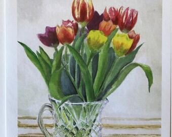 Quadro con tulipani   Etsy