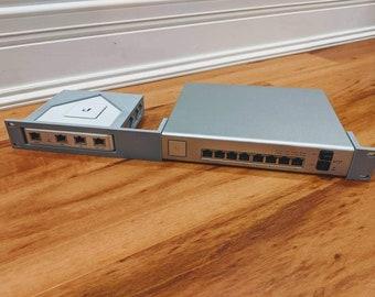 Ubiquiti Unifi Security Gateway + Switch 8 PoE 150W - Dual Rackmount Kit