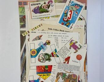 Junk Journal Castle Ephemera King and Queen Art Journal Papers Vintage Scrapbook Journal Kit