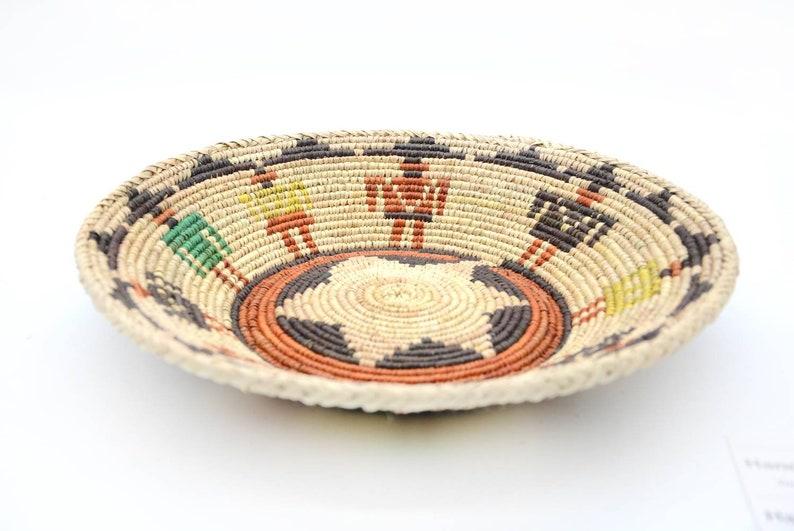 Wall basket,13.2,Moroccan basket,Rwandan basket,African wall basket,woven basket,vintage basket,hanging basket,bohemian basket,1909080046