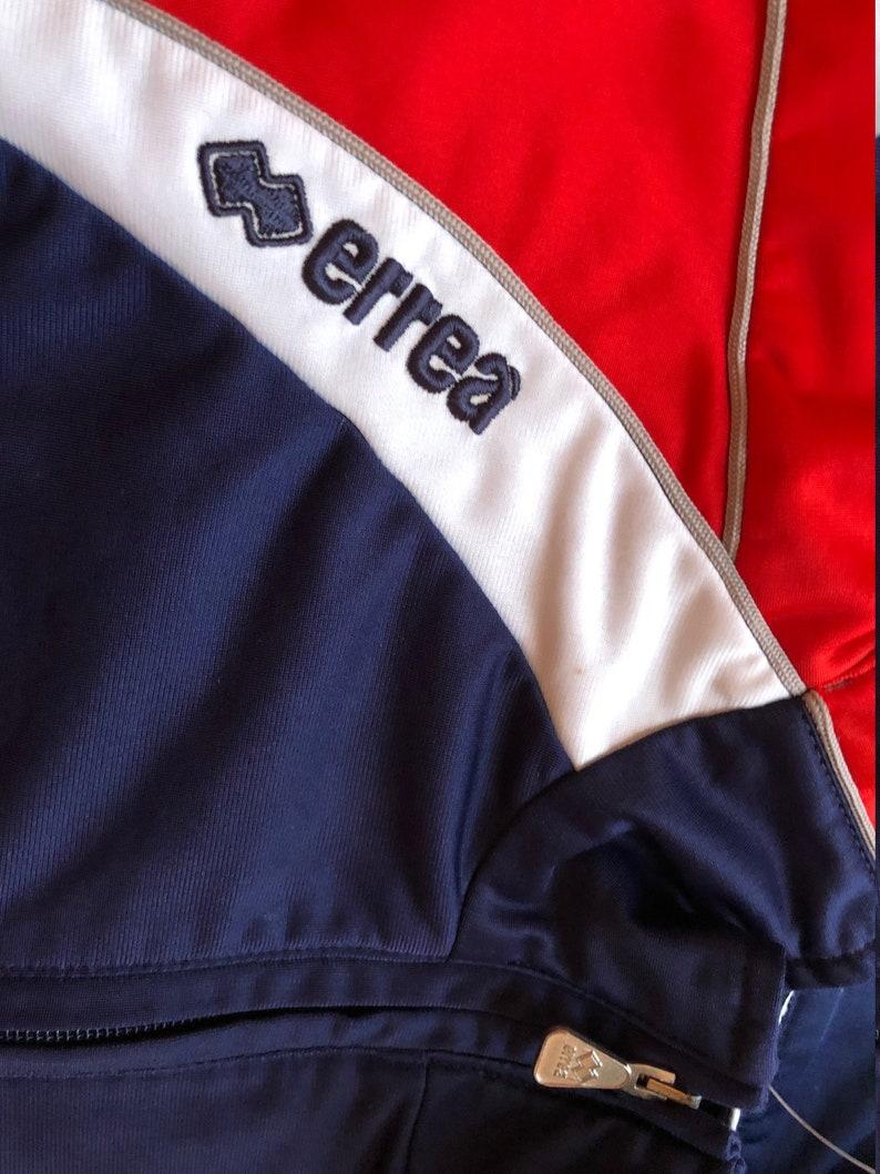 errea Track Jacket soccer jersey Topper Argentina Football Blue Red 1990s Size men M