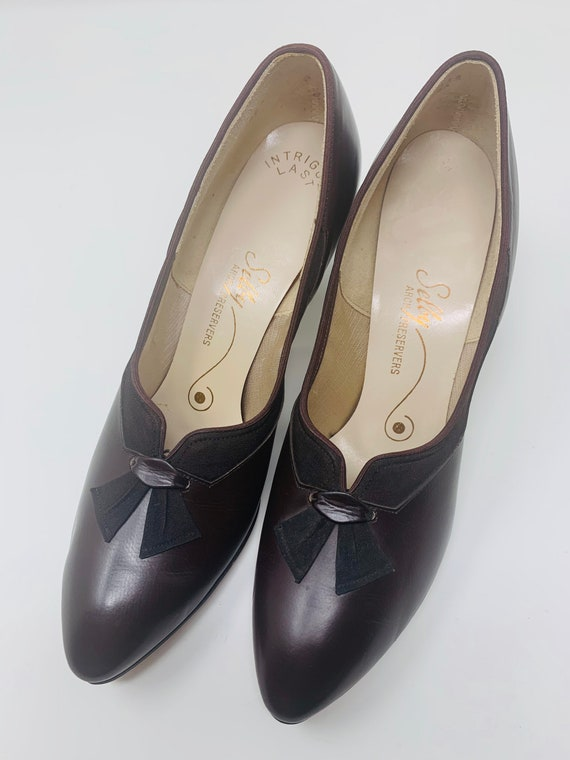 Vintage Selby 7.5AAA Chocolate Brown Leather Deads