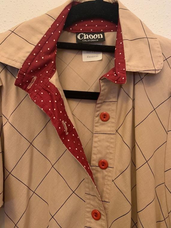 Vintage Choon California 80's Does 50's Dress - image 4