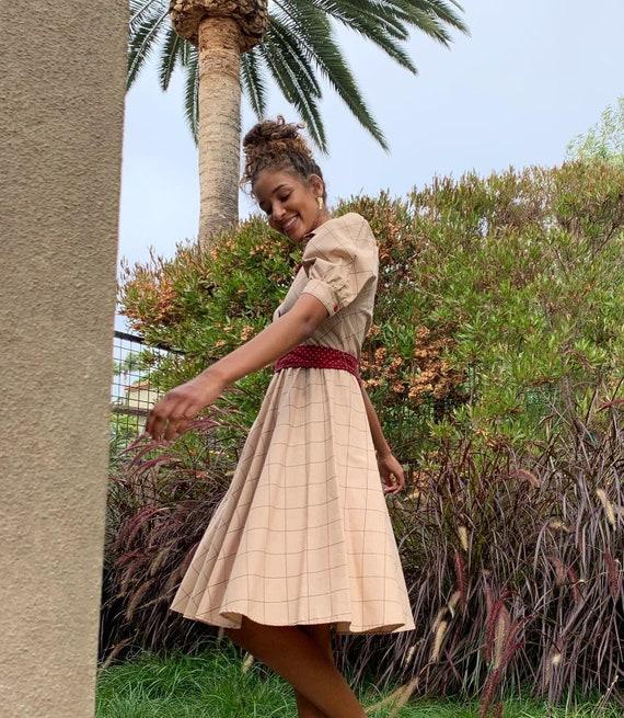 Vintage Choon California 80's Does 50's Dress - image 9