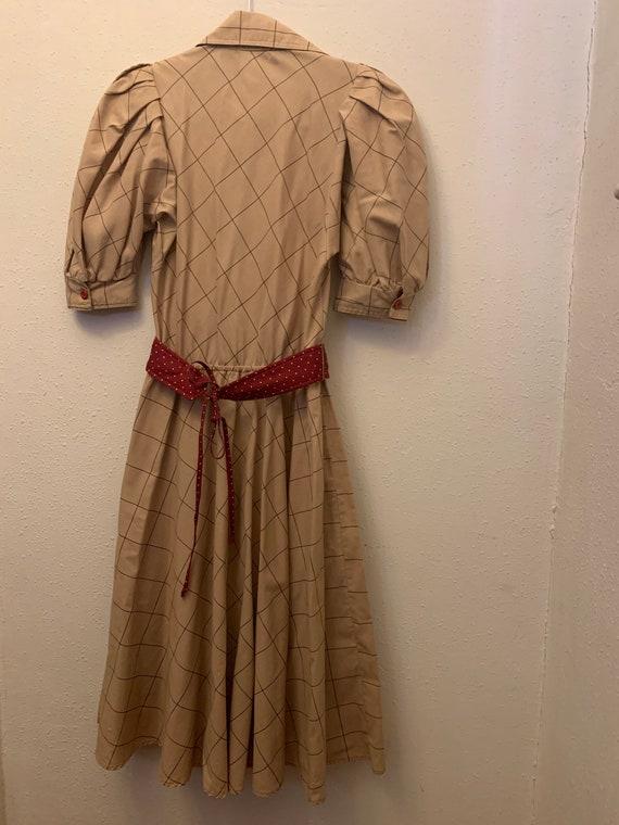 Vintage Choon California 80's Does 50's Dress - image 6