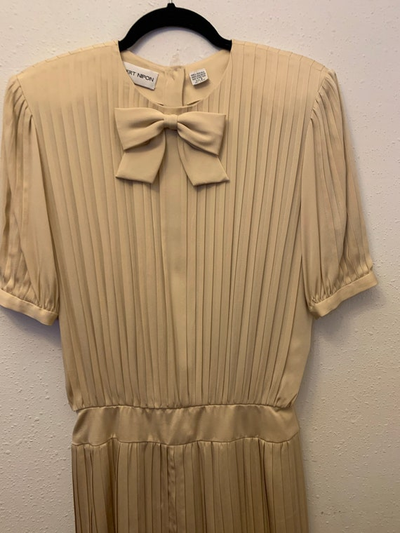 Vintage Albert Nipon Silk Dress•Size 8