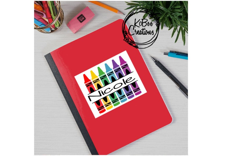 Personalized Back to School NotebookPoly Cover  composition image 0