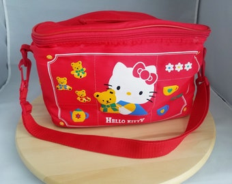 aba61dadc Sanrio Vintage Hello Kitty Red Lunch Bag