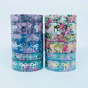 Simply Gilded 12 Days of Christmas Constellation Washi Tape Samples Stars Washi Tape Samples