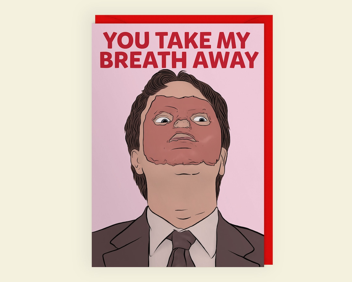 You Take My Breath Away  Dwight Schrute  The Office  CPR  image 0