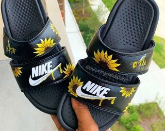 c838a81623889 Nike slides | Etsy