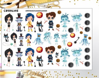 Coraline Characters Etsy