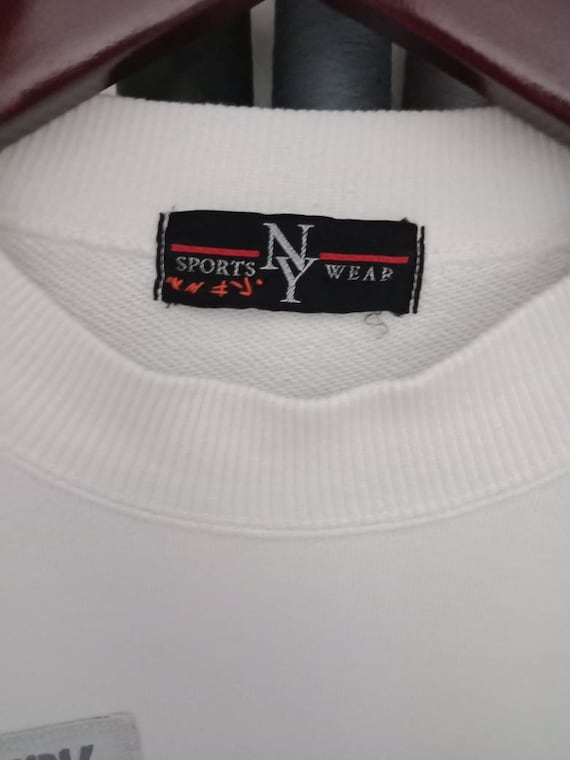 Vintage Rare New York Press Embroidery Big Logo X… - image 5
