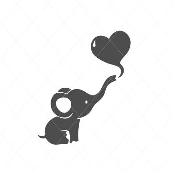 Elephant Svg Elephant Cut File Elephant Vector Pregnant Etsy