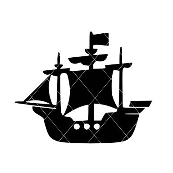 Pirate Ship Svg Pirate Ship Cut File Pirate Ship Decal Etsy