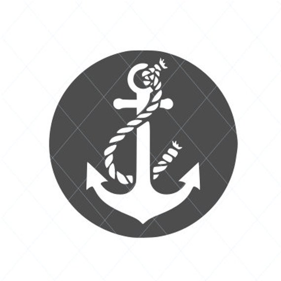 Anchor With Rope Seaman Sailor Sailorman Boat Ship Sea Ocean Etsy